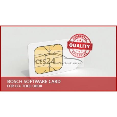 BOSCH SOFTWARE CARD FOR ECU TOOL OBDII