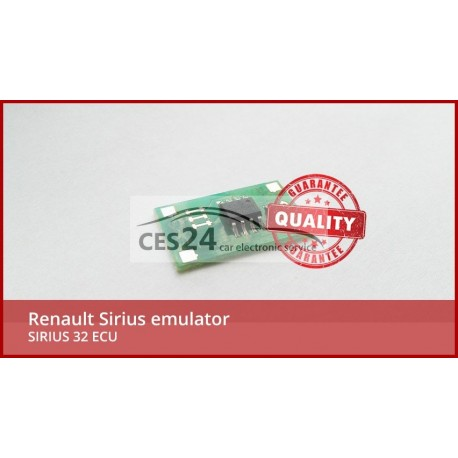 Renault Sirius emulator