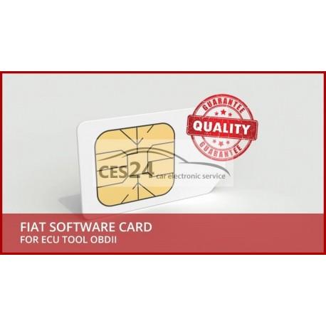 FIAT SOFTWARE CARD FOR ECU TOOL OBDII