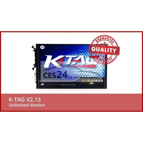 Full Set KTAG V2.13 Unlimited Version K TAG Master ECU Programming Tool K-TAG Hardware V6.070