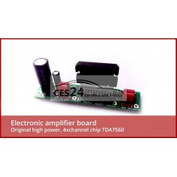 Electronic amplifier board with original high power, 4xchannel chip TDA7560 for BMW BM54 or Logic 7 amplifier repair